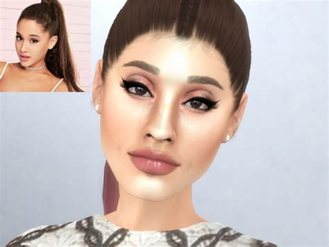 ariana sims 4 the sims resource ariana grande by softspoken sims 4