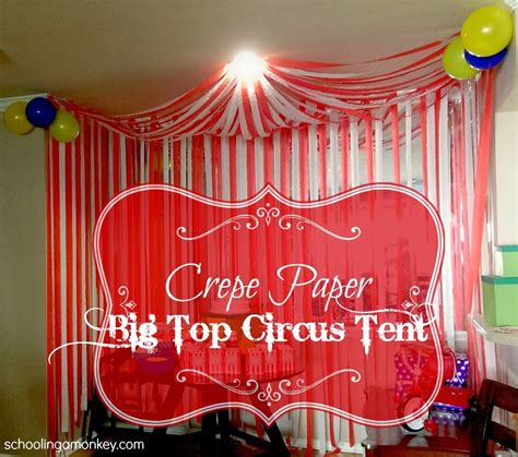 pattern party ideas circus party diy circus tent