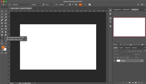 testo strumenti testo formattazione photoshop essenziali grafica html it