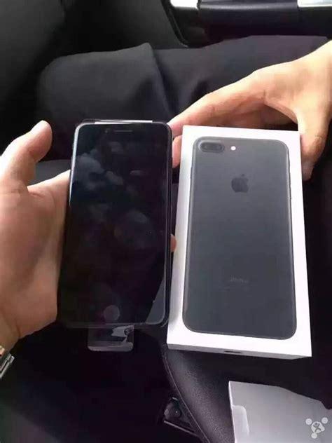 early iphone  unboxing  jet black model   black box  iclarified