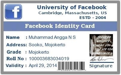 cara membuat id card facebook via hp cara membuat id card facebook 507 creator