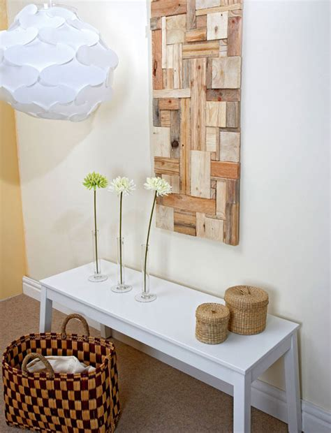 decorare il legno idee riciclare scarti di legno bricoportale fai da te e