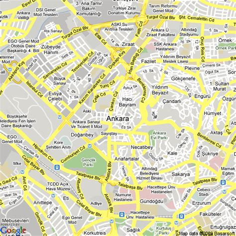 map of ankara turkey hotels accommodation