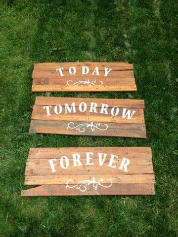 Country Decorations For Home Pallet Wedding Signs Cj Grows