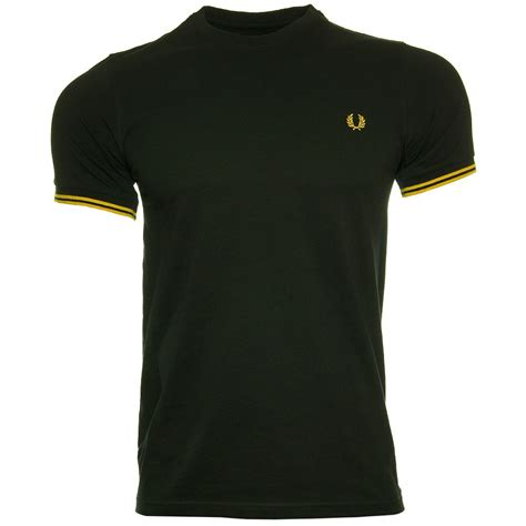 t shirts fred perry tipped t shirt fred perry t shirts