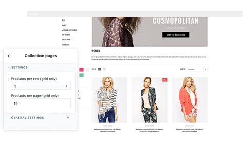 fashionable responsive fashion shopify template