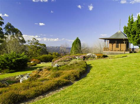 Mount Tomah Botanic Garden In The Blue Mountains The Season Of Sydney