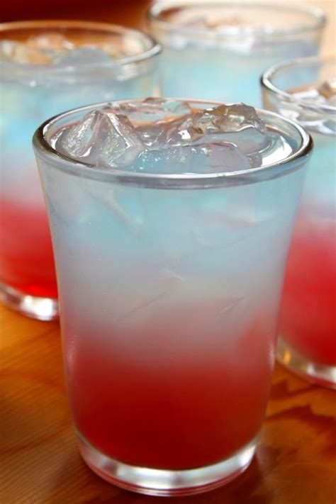 5 red white and blue drink recipes for 4th of july blue