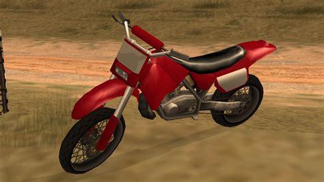 Schnellstes Motorrad San Andreas by Sanchez Sa Gta Wiki Fandom Powered By Wikia