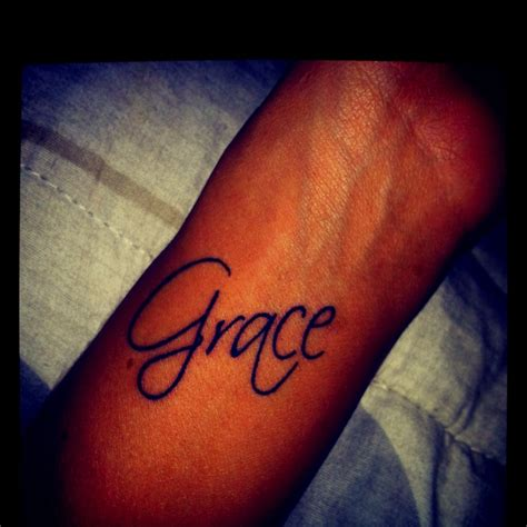 grace name tattoo designs grace getting inked