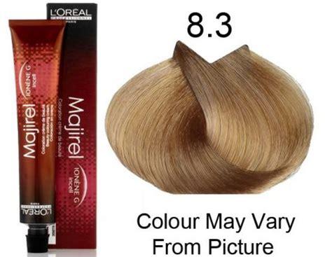 l oreal majirel no 8 3 permanent hair color golden light 50 ml pack of 3 buy l oreal l oreal professional majirel 8 3 8g permanent hair color 50ml hair and supplier