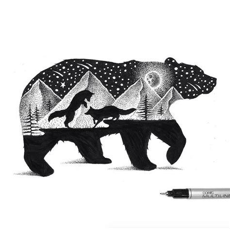 imagenes blanco y negro de animales hermosas ilustraciones de animales en blanco y negro