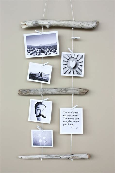 creative ways to display photos without frames catherine parkinson hanging textile art work