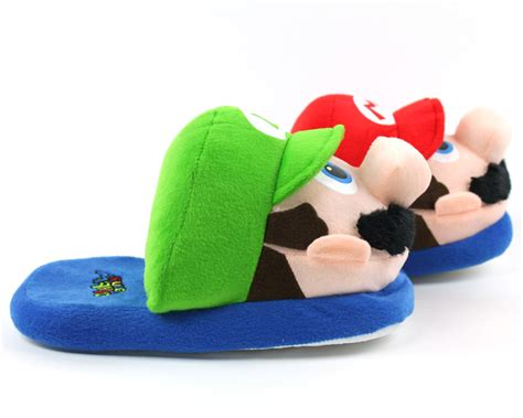 luigi slippers mario and luigi slippers nintendo slippers mario