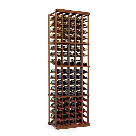 vinotemp 63 bottle pine floor wine rack ibf col 7 the