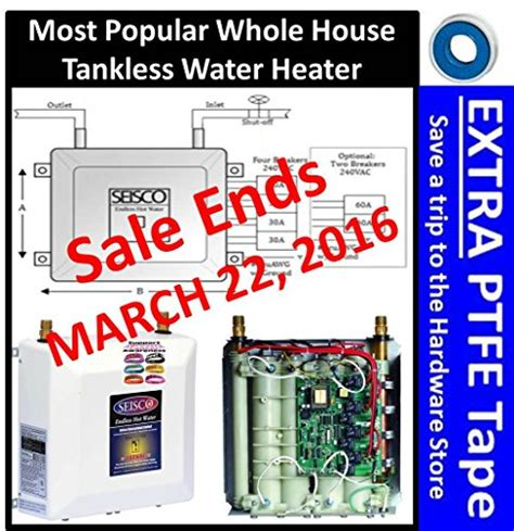 2016 NEWEST SEISCO RA 28 WHOLE HOUSE ELECTRIC TANKLESS WATER HEATER HAS 0.99  ENERGY FACTOR