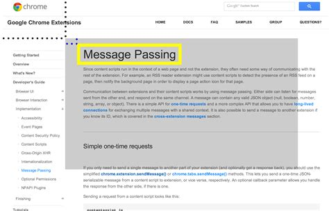 chrome javascript chrome extensions taking screenshots with javascript