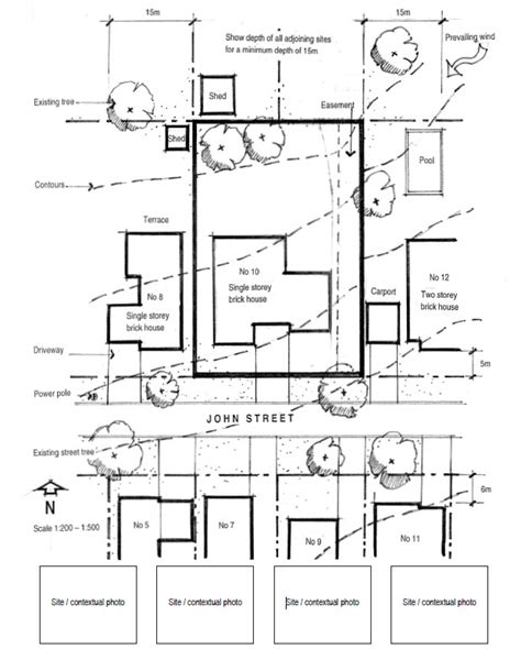site plan drawings 2 prepare plans and drawings sutherland shire council