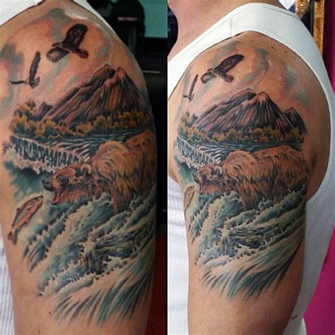river tattoo 100 nature tattoos for great outdoor designs