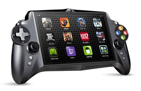 console on android nvidia jxd s192 the best android gaming console gadgetynews