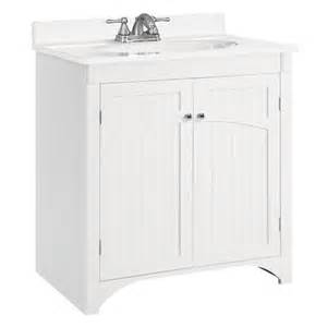 White Vanity Without Top Outdoor