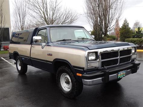 1993 dodge ram 250 cummins turbo diesel 1993 dodge ram 250 5 9l turbo cummins diesel 2wd 12