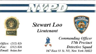 nypd id card template nypd id card images