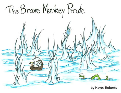 cursed pirate coloring book books the brave monkey pirate a children s book bluebison net