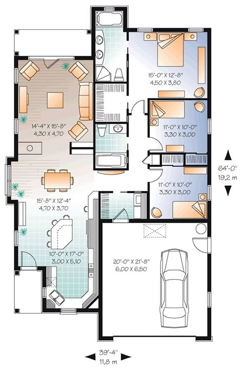 cool house plans com quick view plan id chp 38939