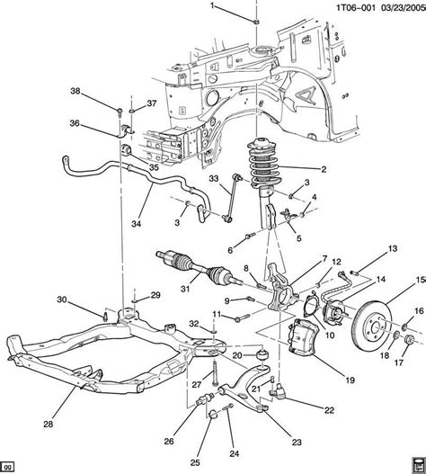steering suspension diagram oem genuine gm 25836292 steering knuckle chevy cobalt ebay