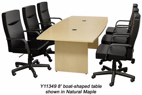 6 conference table quickship boat shaped conference tables 6 table see