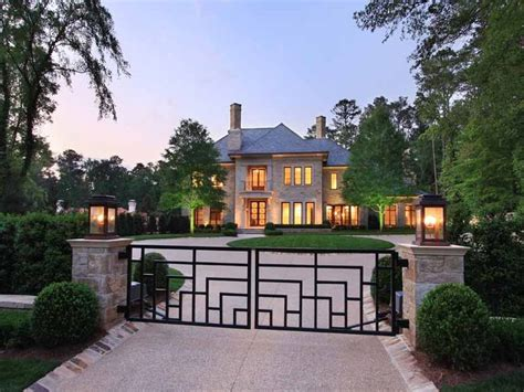 Luxury Homes For Sale In Buckhead Ga Mansions In Buckhead Atlanta Historic Buckhead Estate Value 12 000 000 Circa 1918 New