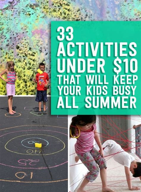 7 To Keep Your Children Active by Activities Kid And Summer On