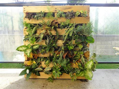 giardino verticale pallet giardino verticale fai da te stili di giardini