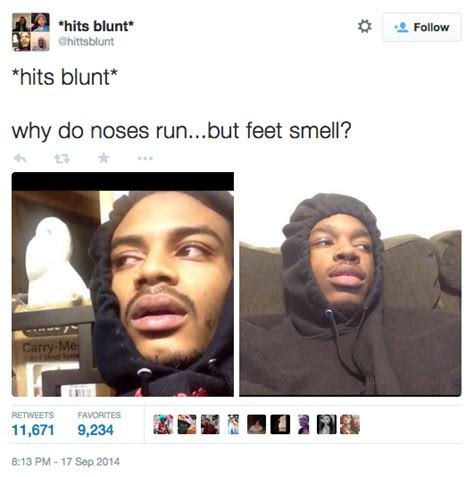 Blunt Runs Some Poor Guys Foot With His Car hits blunt your meme