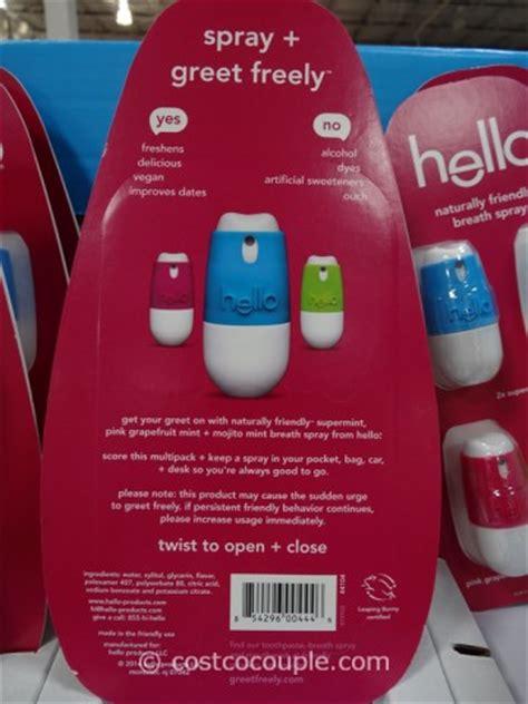 Spray Hello 2 hello breath spray