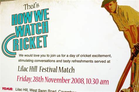 Invitation Letter Format For Cricket Match Invitation Letter Format For Cricket Match Invite