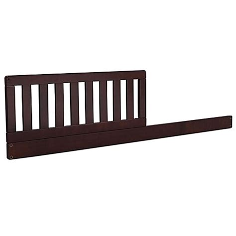 Buy Serta 174 Daybed Toddler Guardrail Kit In Dark Chocolate Serta Master Sleeper Crib And Toddler Mattress