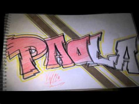imagenes que digan paola boceto graffiti paola quot atomic quot youtube