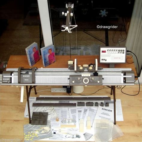 singer knitting machine singer superba 624 electronic knitting machine complete