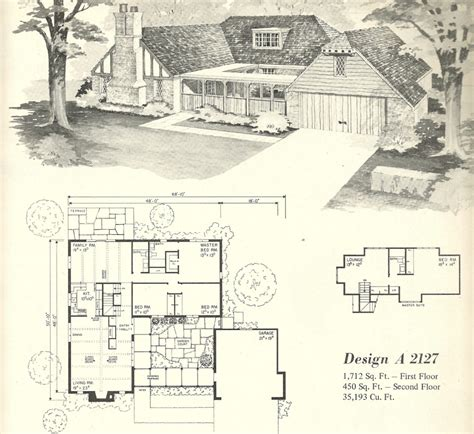 vintage house plans 2127 antique alter ego