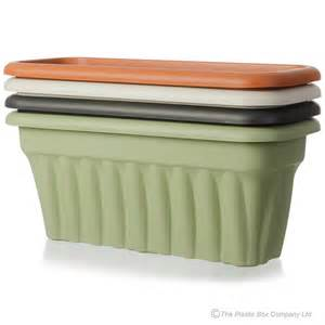 buy planters buy rectangular plastic planters large in green red