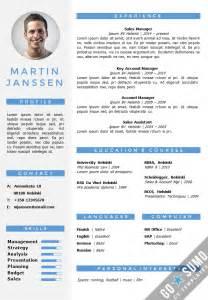 CV Resume Template Helsinki .docx/.pptx   GoSumo