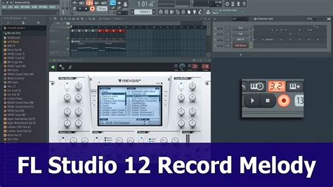 tutorial fl studio piano roll fl studio 12 recording tutorial melody to piano roll
