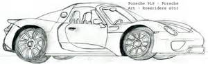 How To Draw A Porsche How To Draw Porsche 918