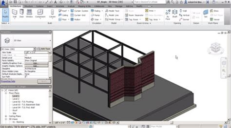 Working In The Construction Template In Revit Creating Assemblies Revit Construction Template