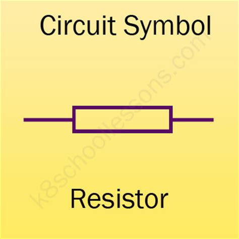 what does a resistor do physics drawing circuits for physics lessons for primary science