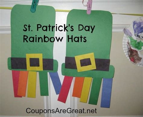 st patricks day crafts 30 easy peasy diy st s day crafts for