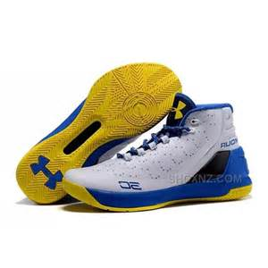 curry armour shoes armour stephen curry 3 shoes white blue yellow