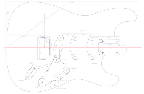 strat routing template fender stratocaster guitar templates electric herald